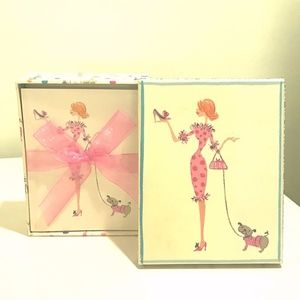 Jeanne Louise Fashion Note Cards - Set of 20